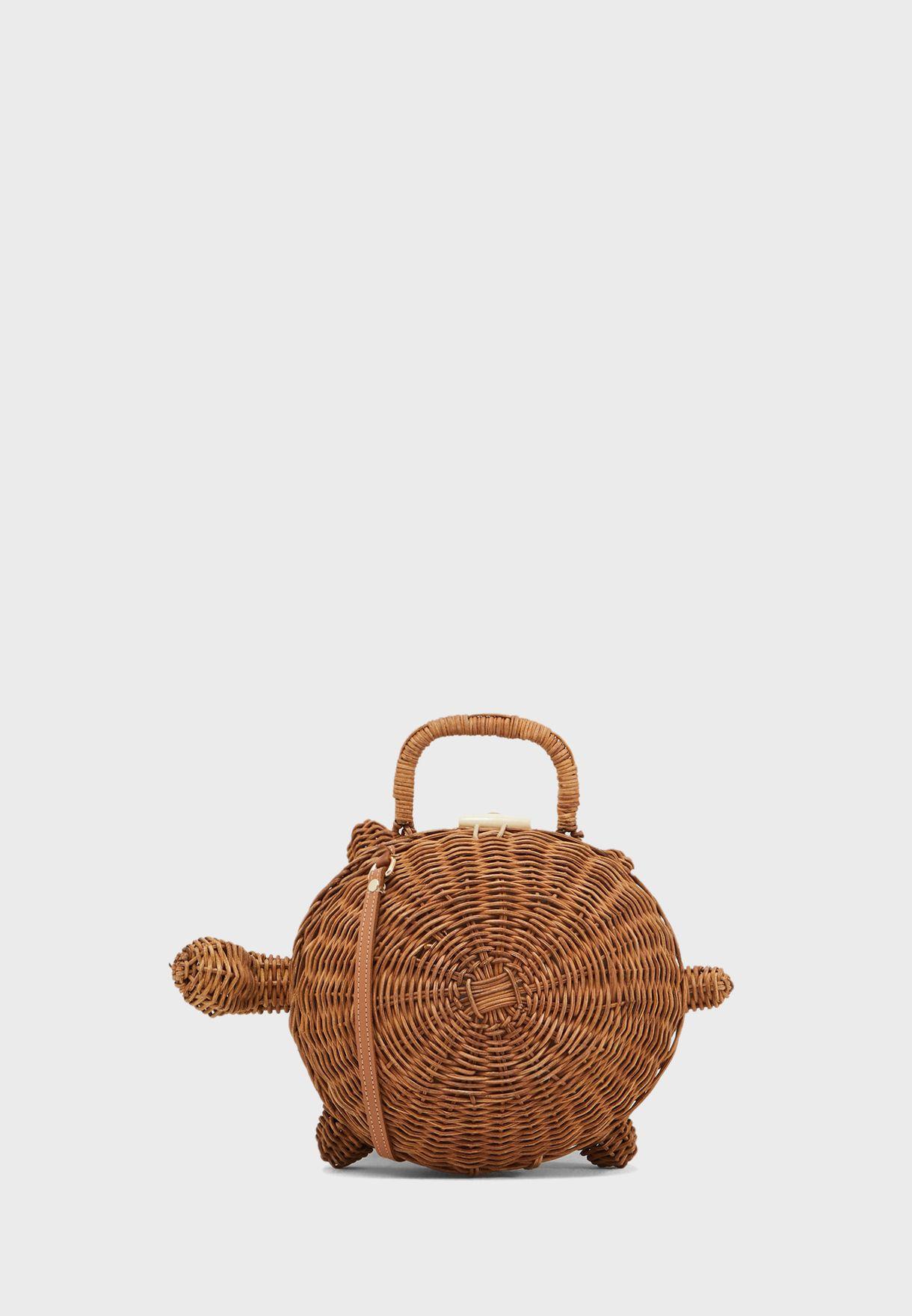 Tortuga Crochet Crossbody
