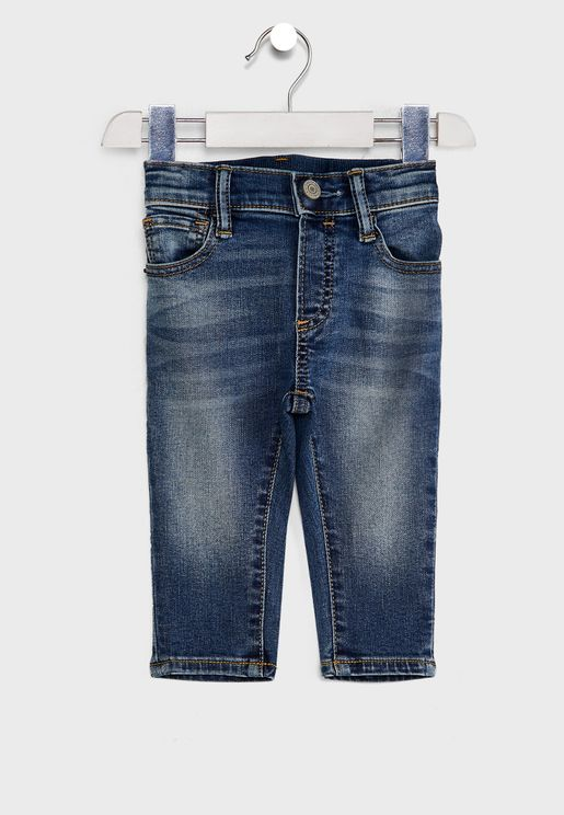 Kids Medium Wash Denim Jeans