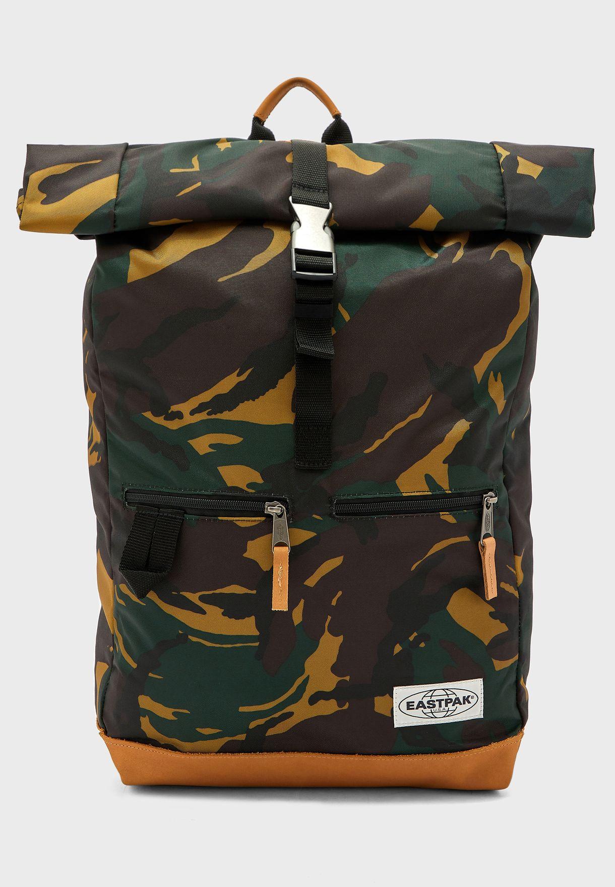 Camo New Mens Eastpak  Macnee Backpack