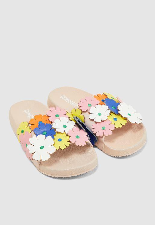 Kids Floral Slyde