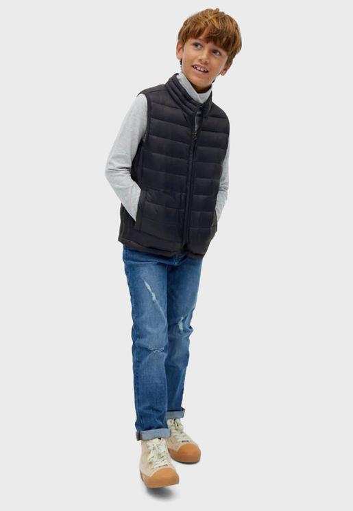 معطف بدون اكمام