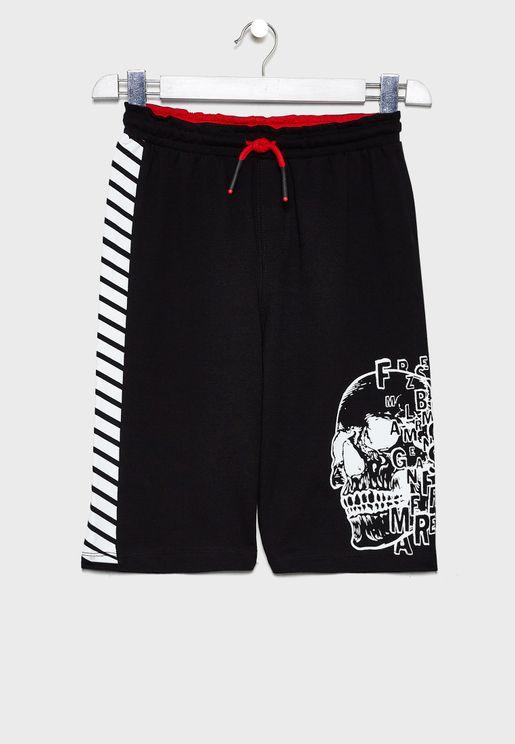 Kids Varsity Shorts