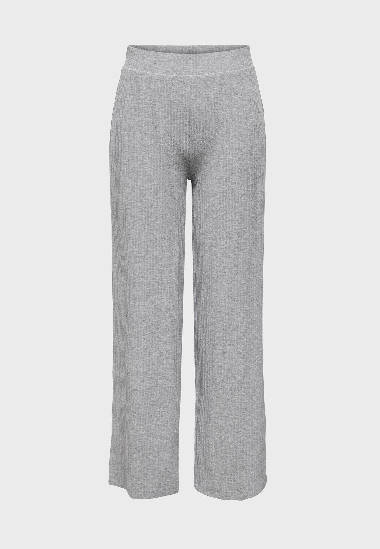 Wide Leg Straight Pants