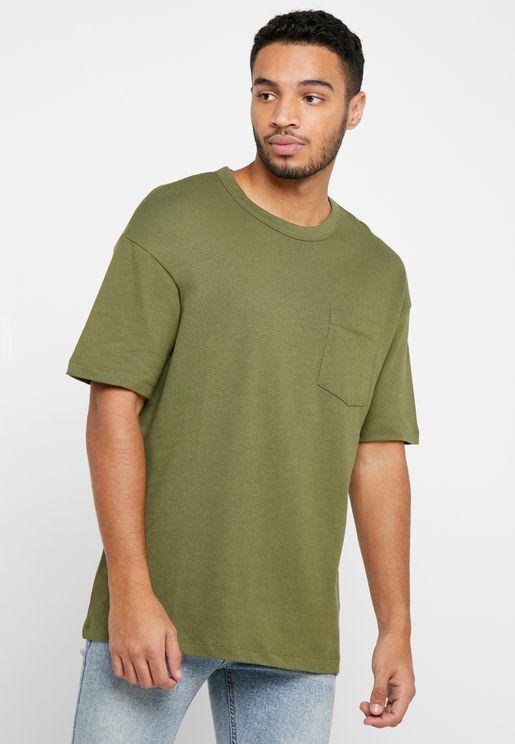 Lucas Oversize Crew Neck T-Shirt