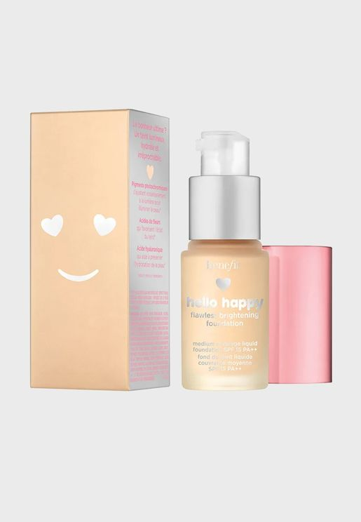 Hello Happy Flawless Brightening Mini Foundation -02