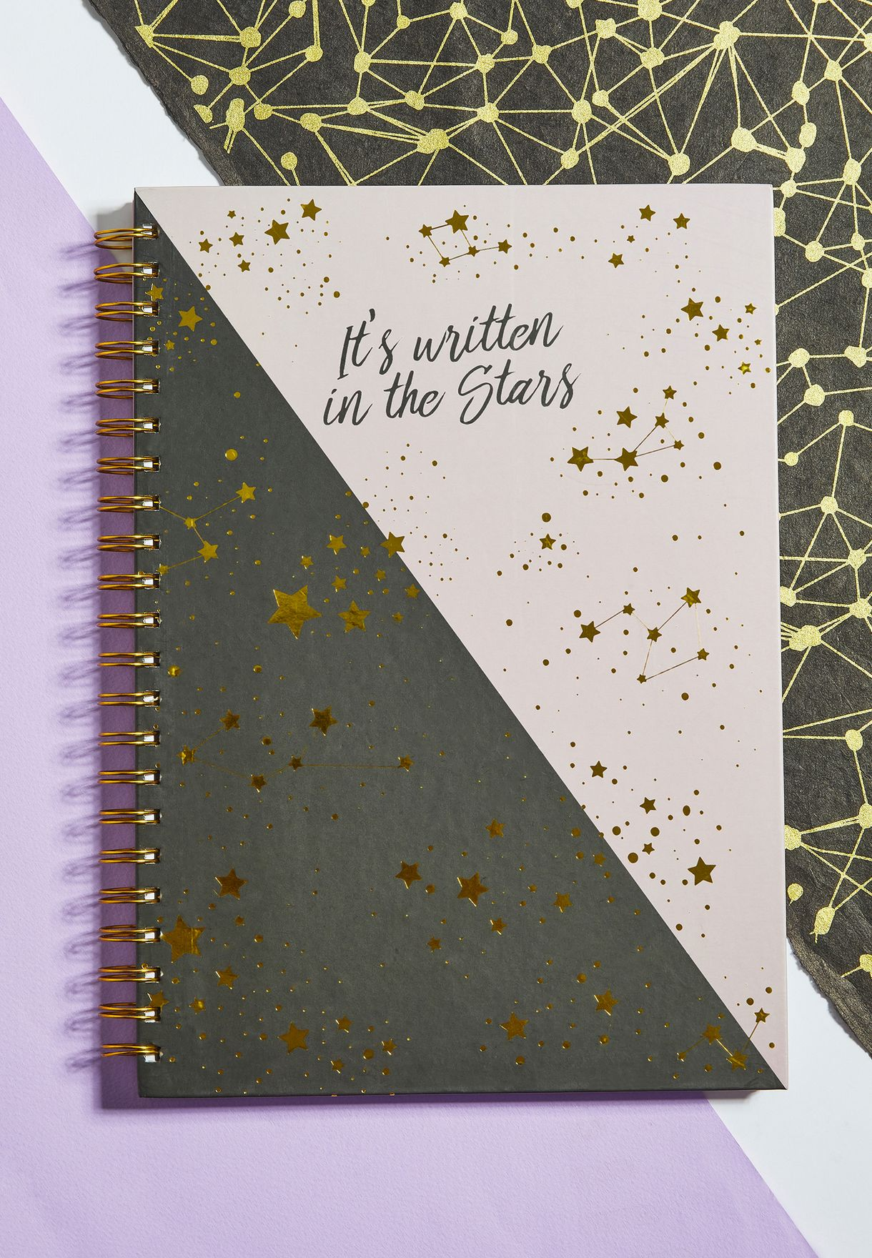 A4 Written In The Stars Notebook