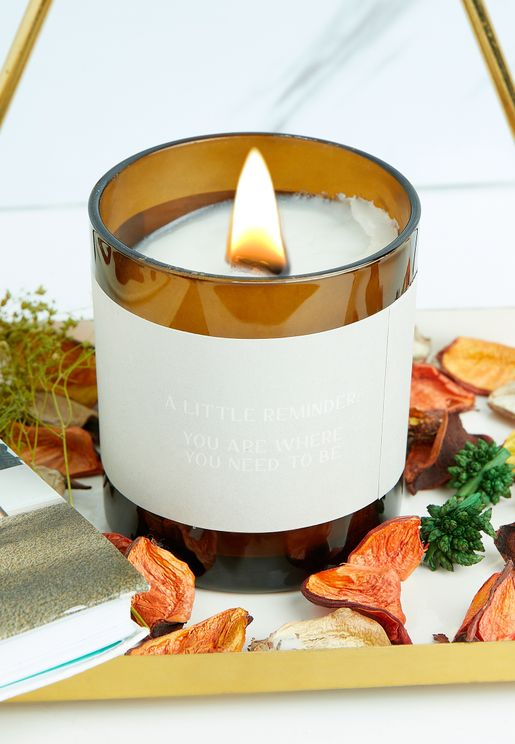 Windflower Slow It Down Candle