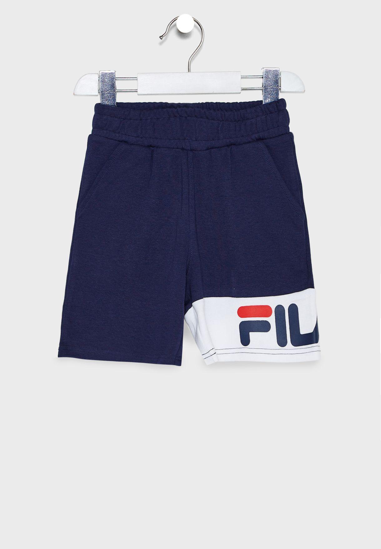 Kids Ethan Colour Block Shorts