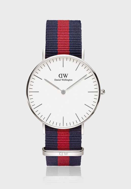 Classic Oxford White 36mm Watch