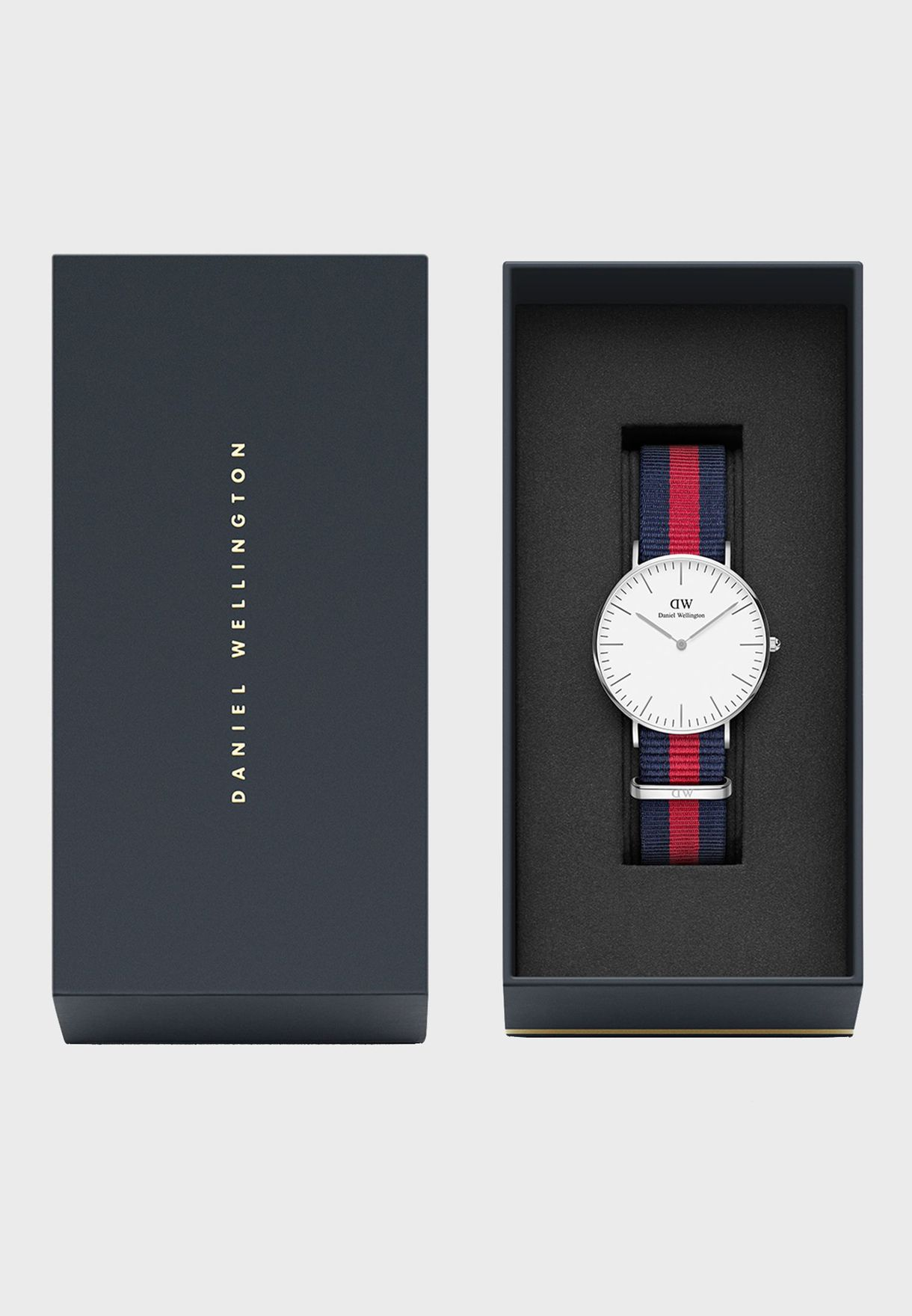 Classic Oxford Silver White 36mm Watch