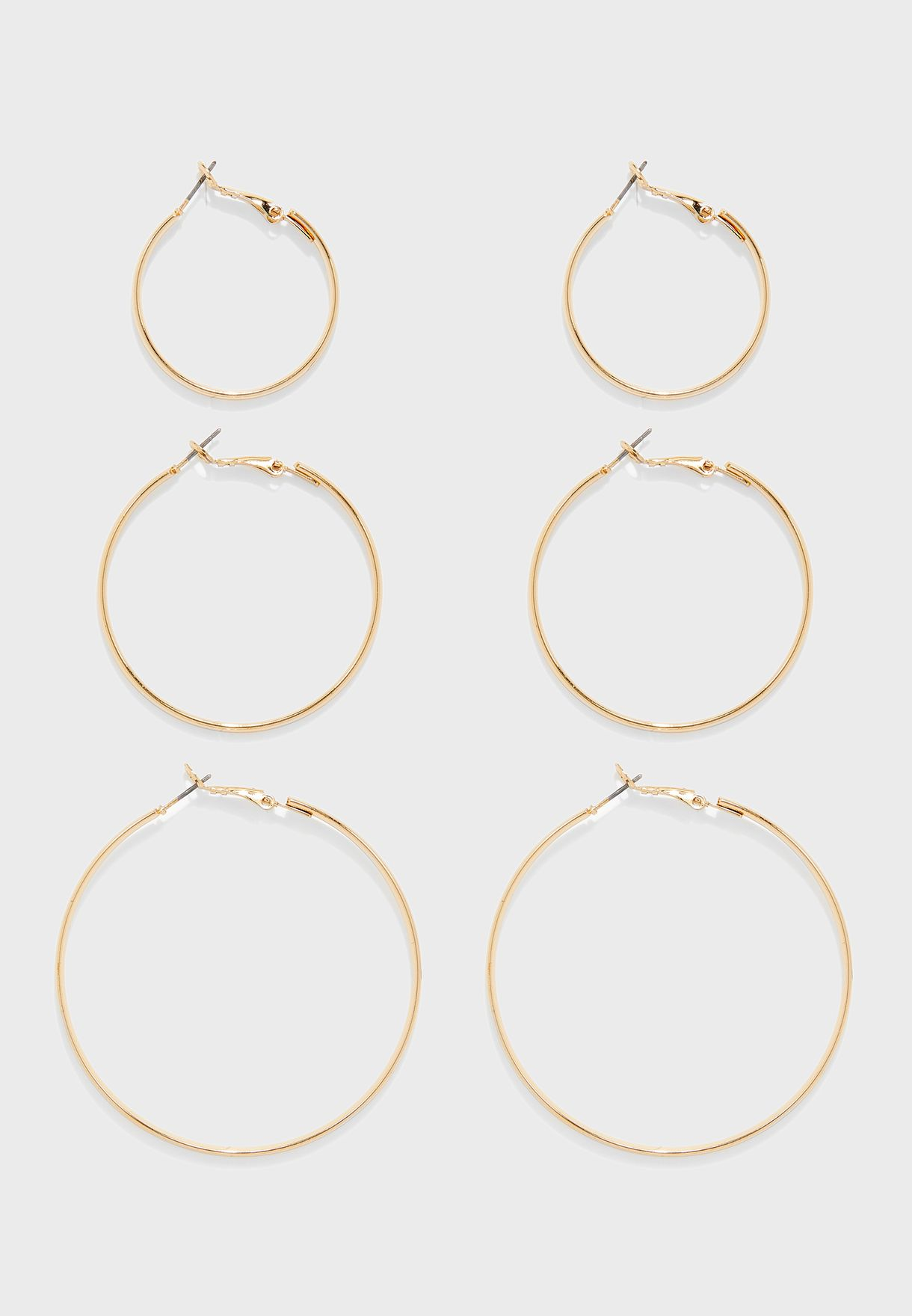 Hoops Earrings Sets