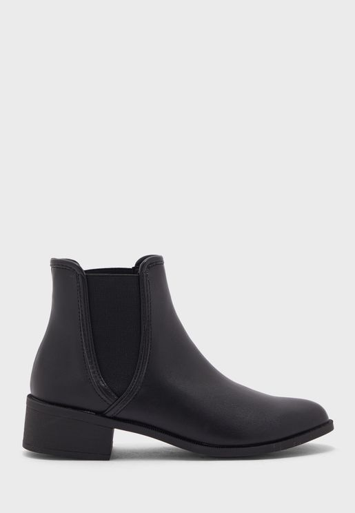 Brit High Heel Ankle Boot