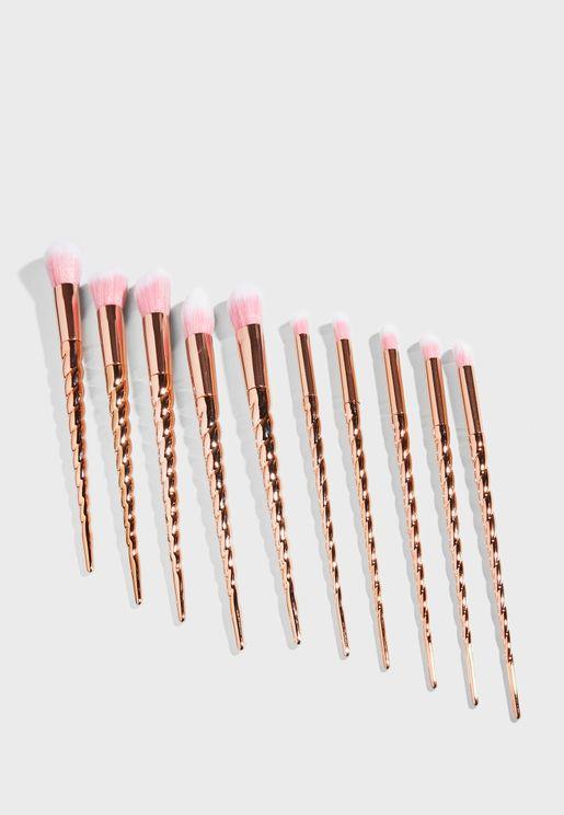 Unicorn Cosmetic Brush Set