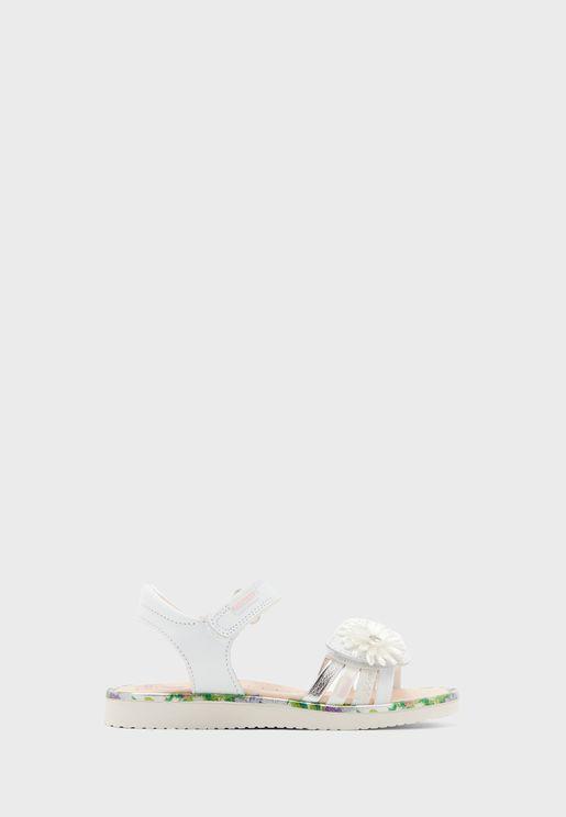 Infant Floral Strap Sandal