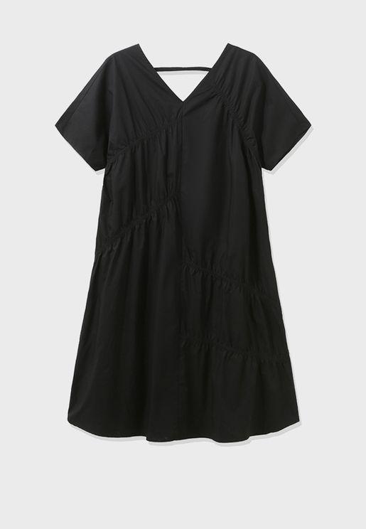 Wide Sleeve T-Shirt Dress