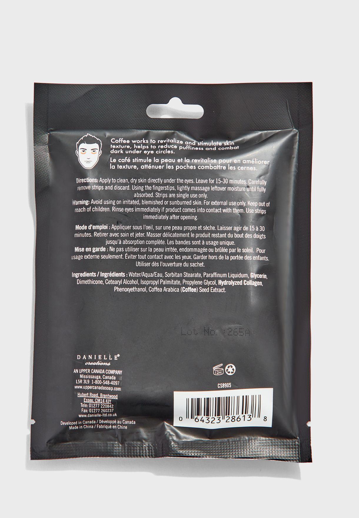 12 Pack Under Eye Strips - Coffee