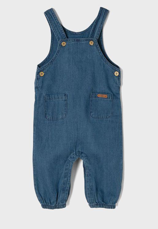 Infant  Pocket Detail Bodysuit