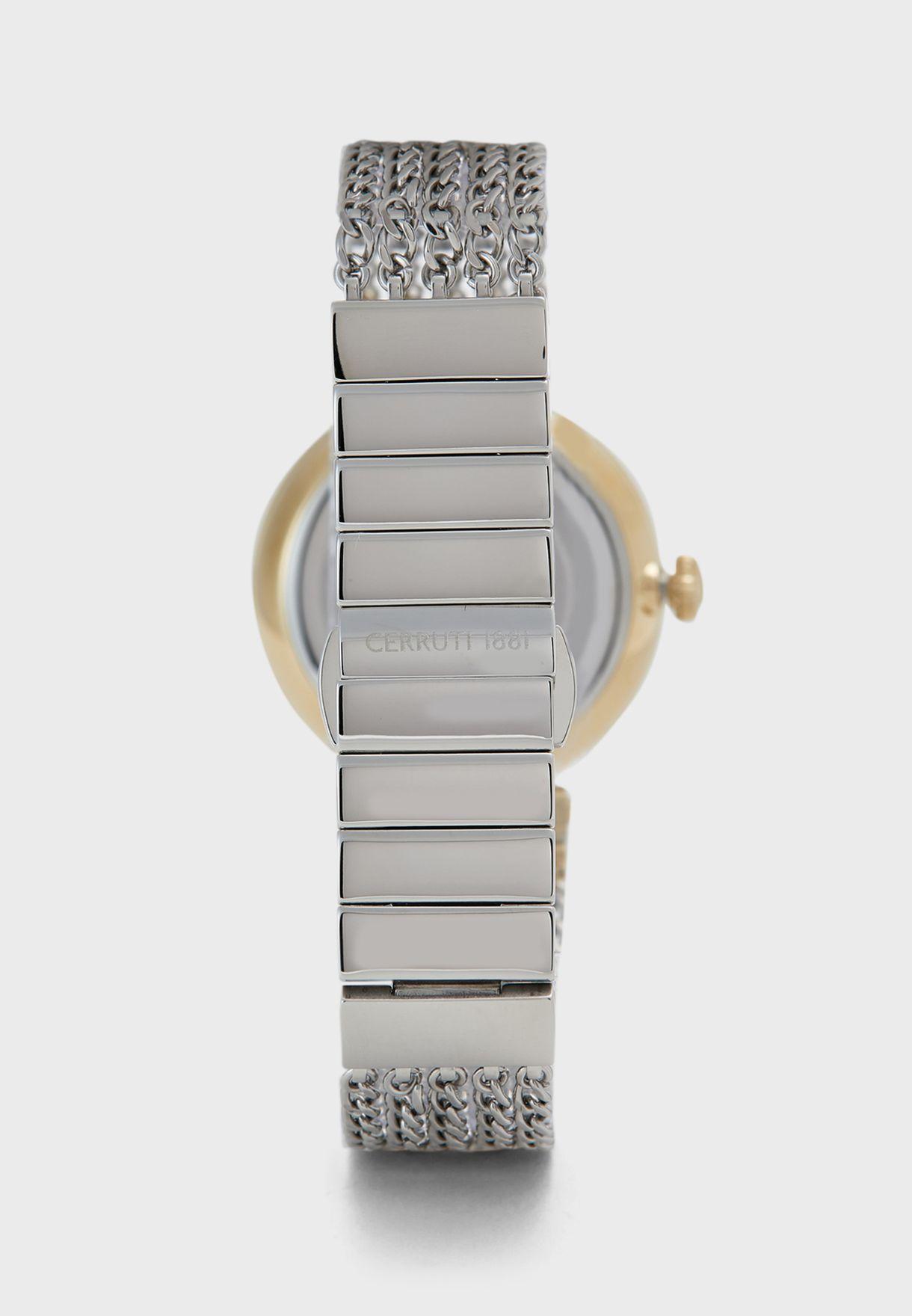 Elettra Mesh Strap Analog Watch
