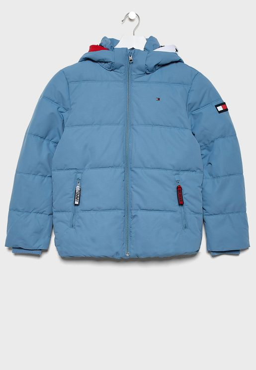 Kids Essential Padded Jacket