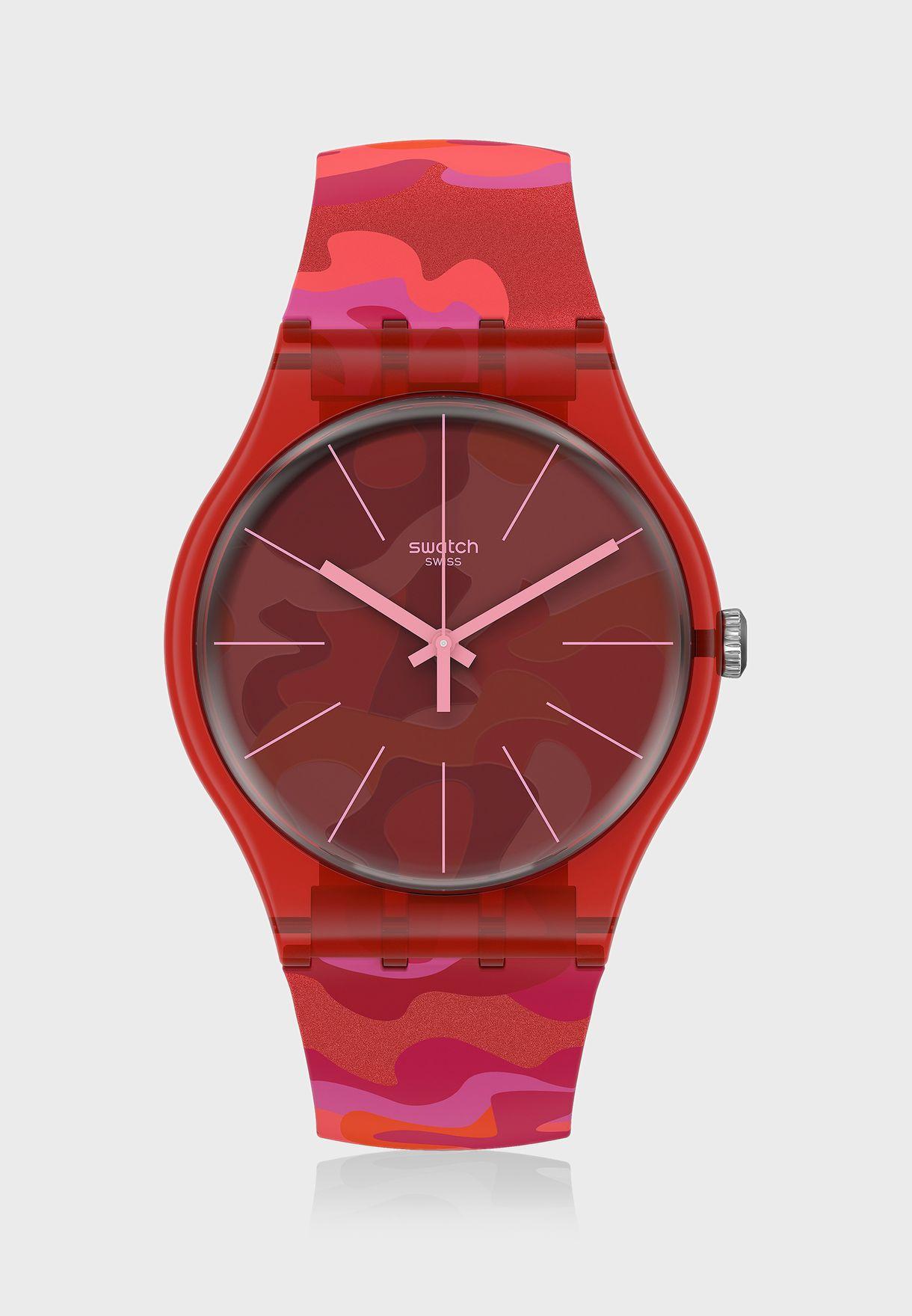 Camouflash Analog Watch