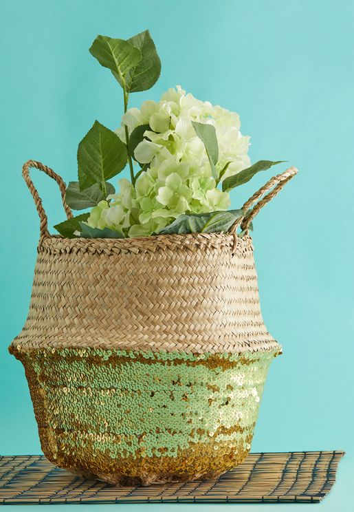 Small Seagrass Top Basket