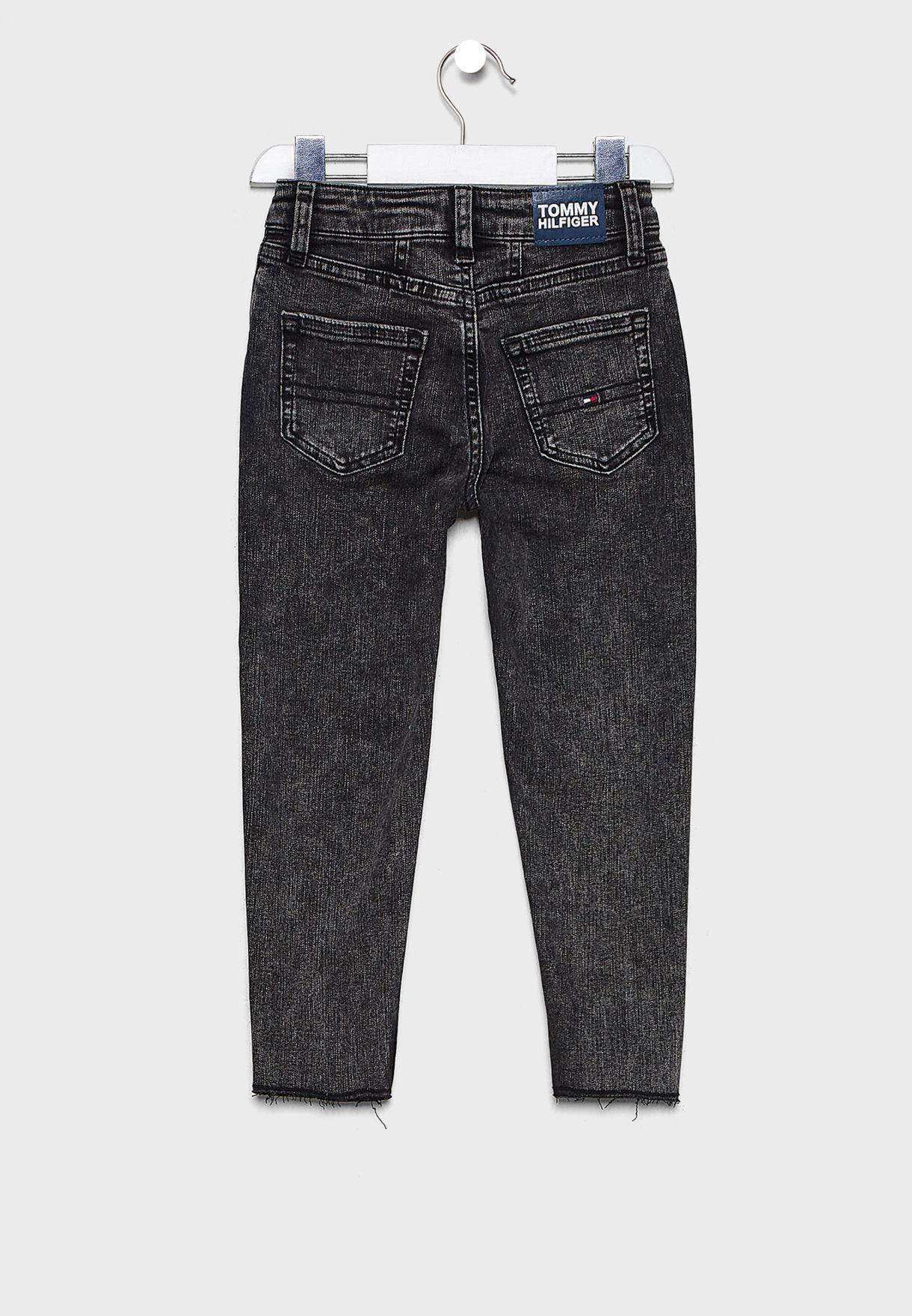 Kids Straight Denim Jeans