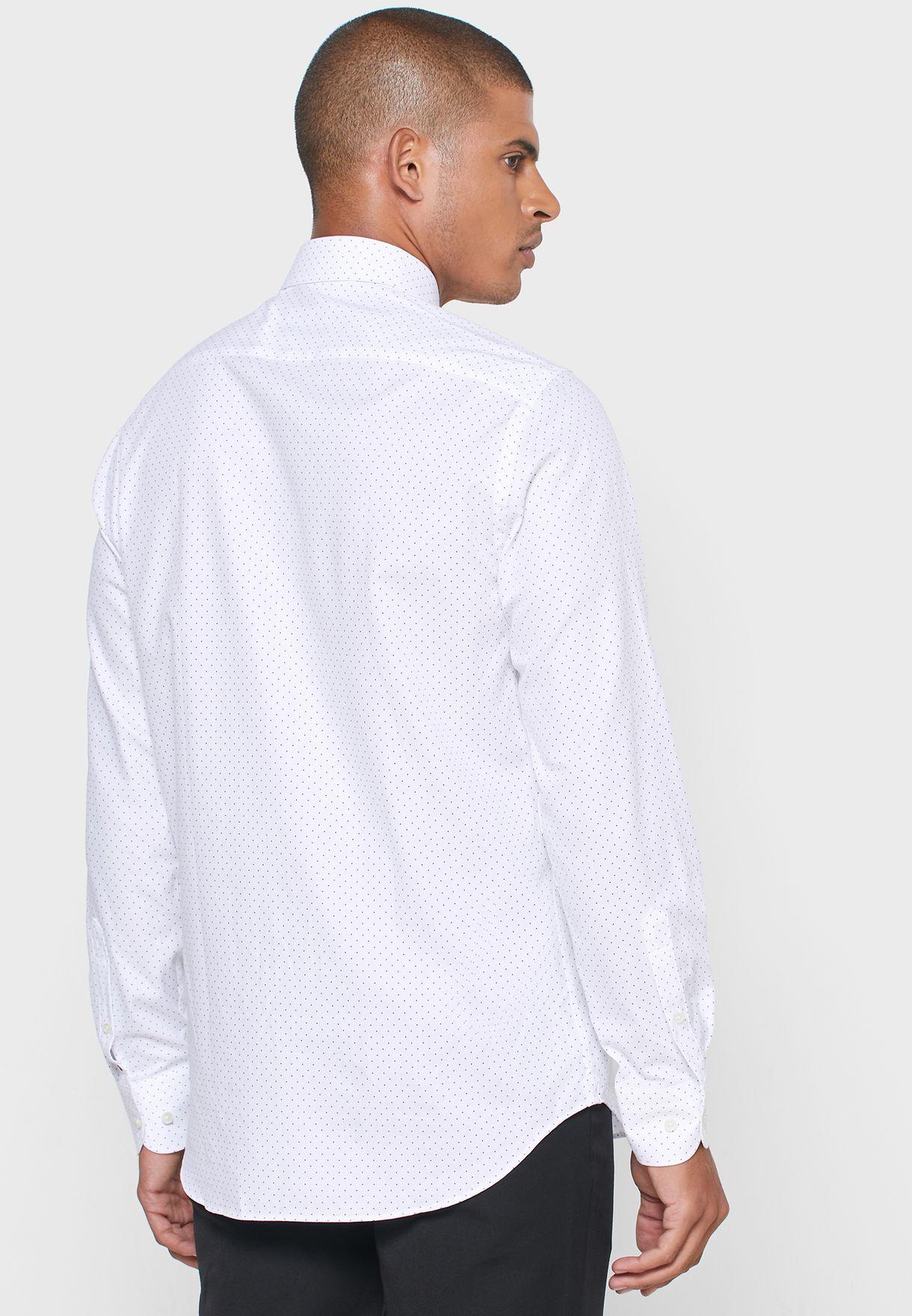 Classic Dot Print Shirt