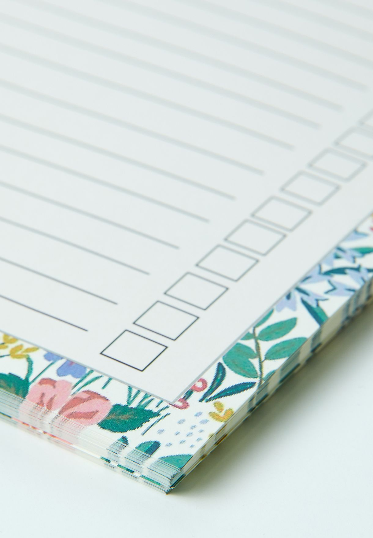 A4 Floral To Do List