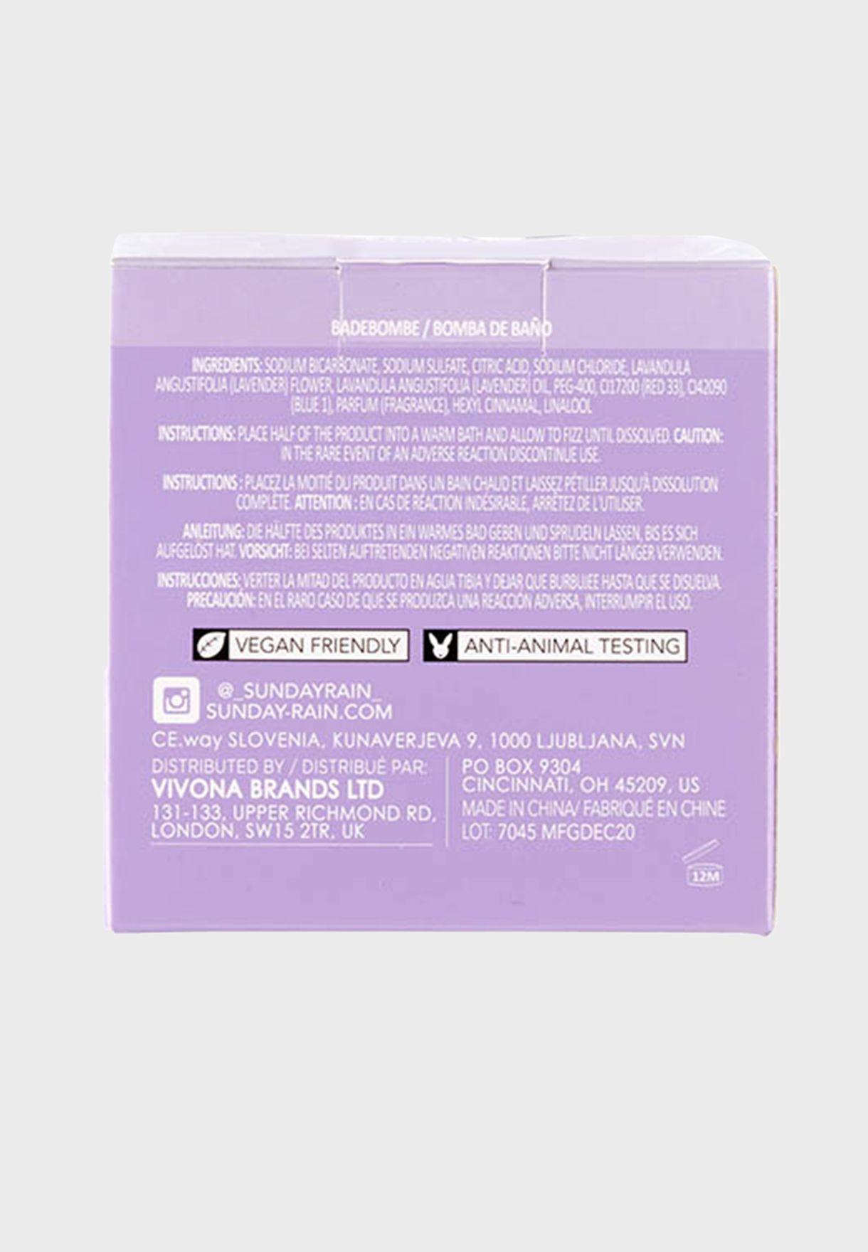 Sleep Easy Bath Bomb Lavender