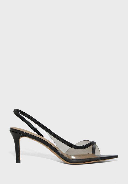Zardodith Mid Heel Sandals