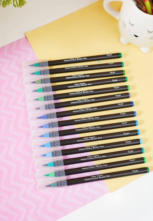 Amazon Rainforest Watercolour Brush Pen Expansion Set