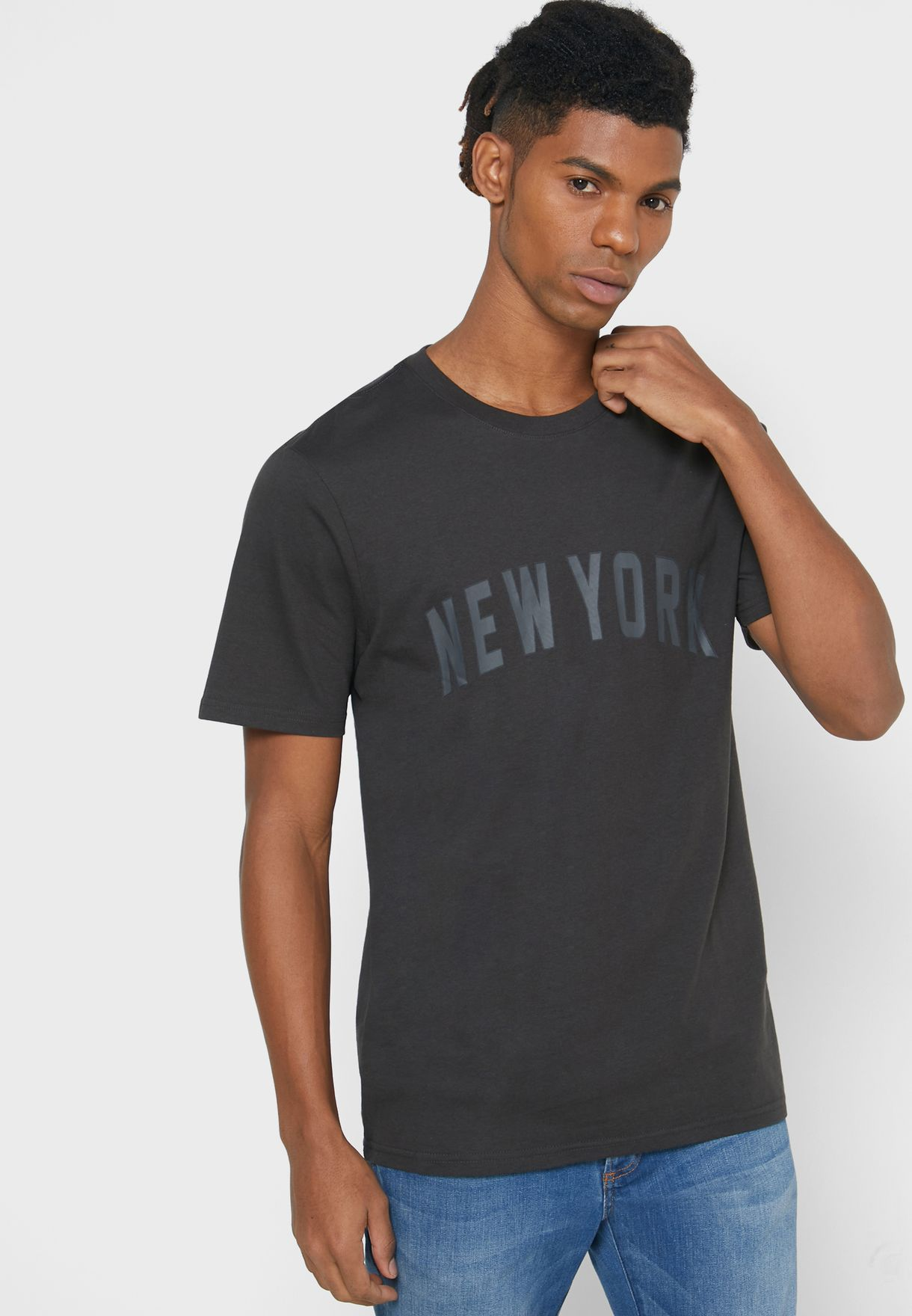 New York Crew Neck T-Shirt