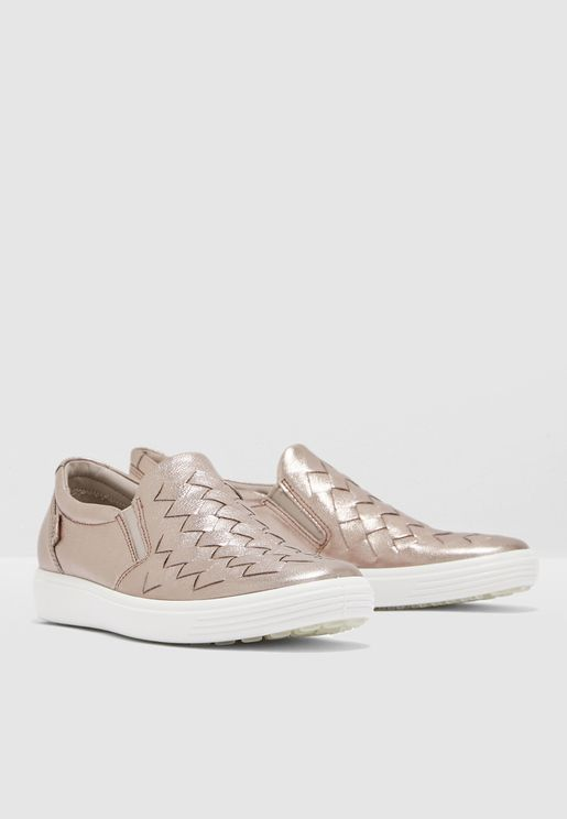 حذاء ميتاليك يهل الارتداء