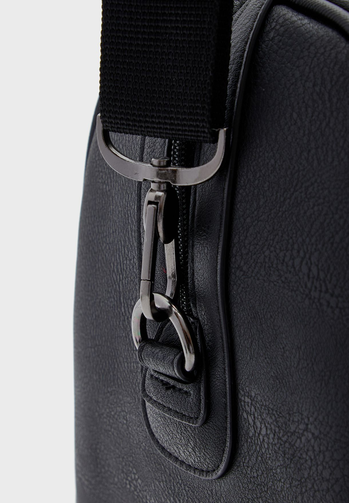 Stripe Detail Duffel Bag