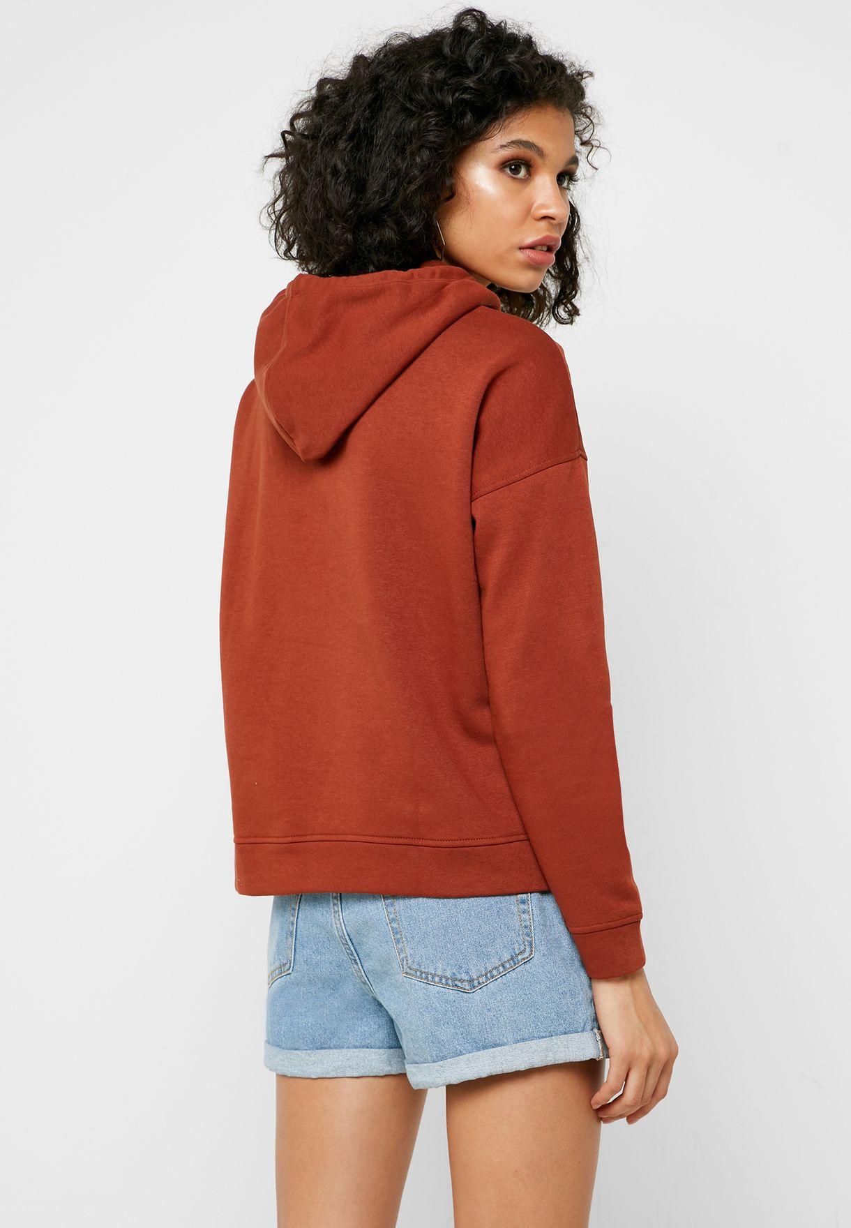 Pocket Detail Hooded