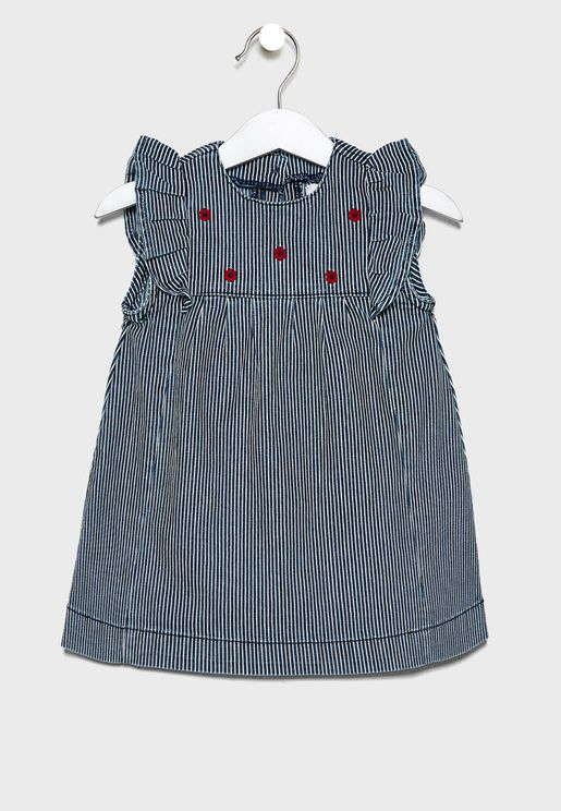 Infant Ruffle Detail Dress