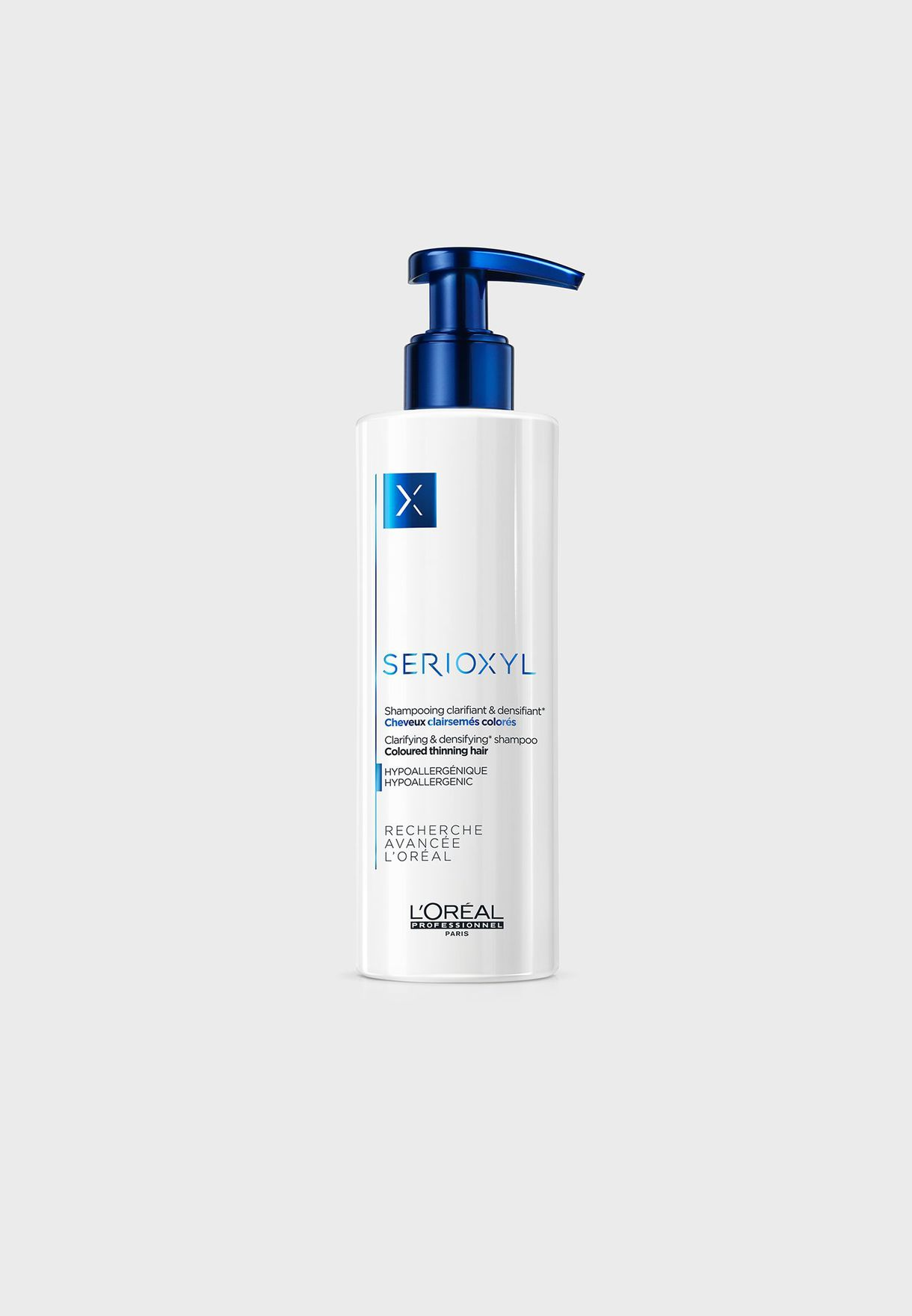 Serioxyl Densifying Shampoo For Colored Thinning Hair 250ml
