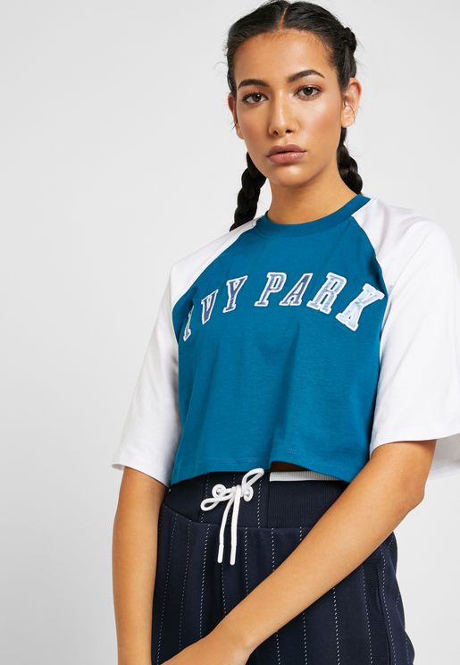 Baseball Crop T-Shirt