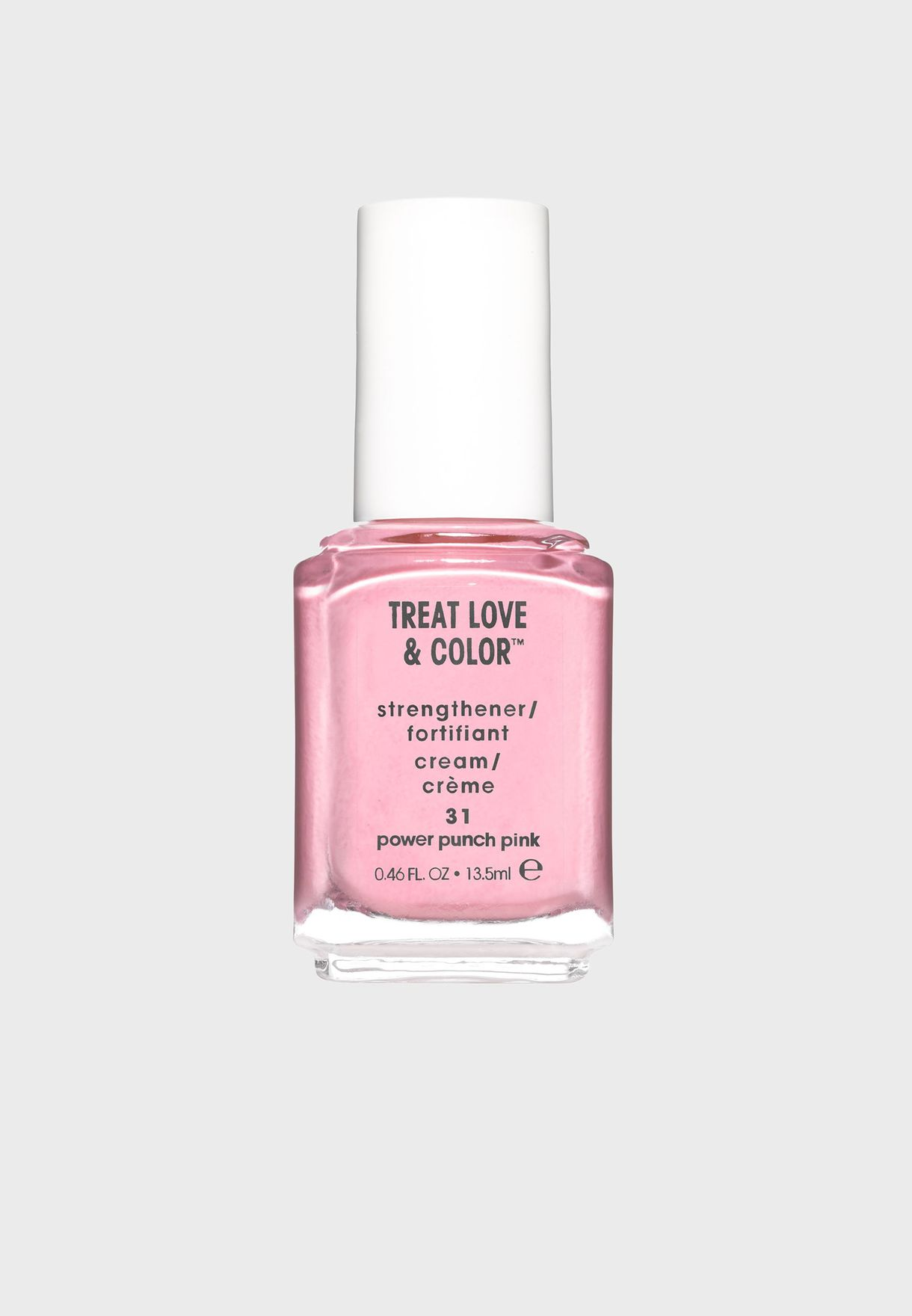 Strengthening Nail Polish - Power Punch Pink 55