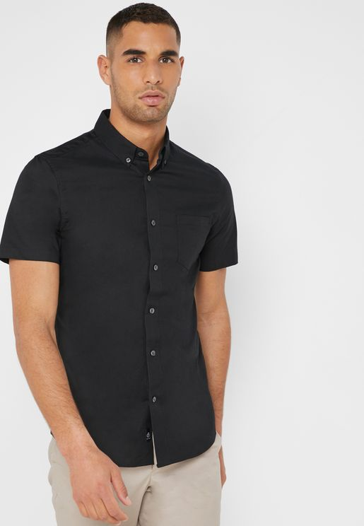 Muscle Fit Oxford Shirt