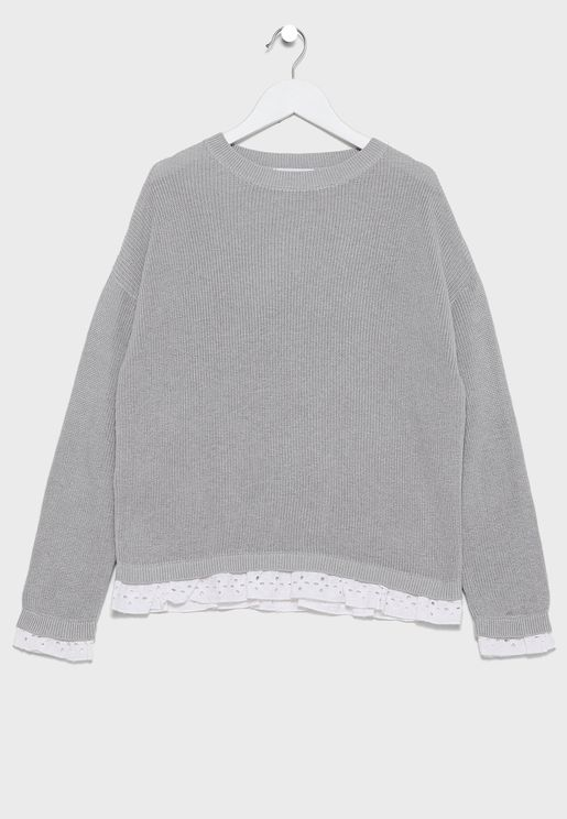 Kids Cable Knit Sweater