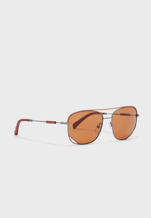 Ckj19101S Round Shape Sunglasses