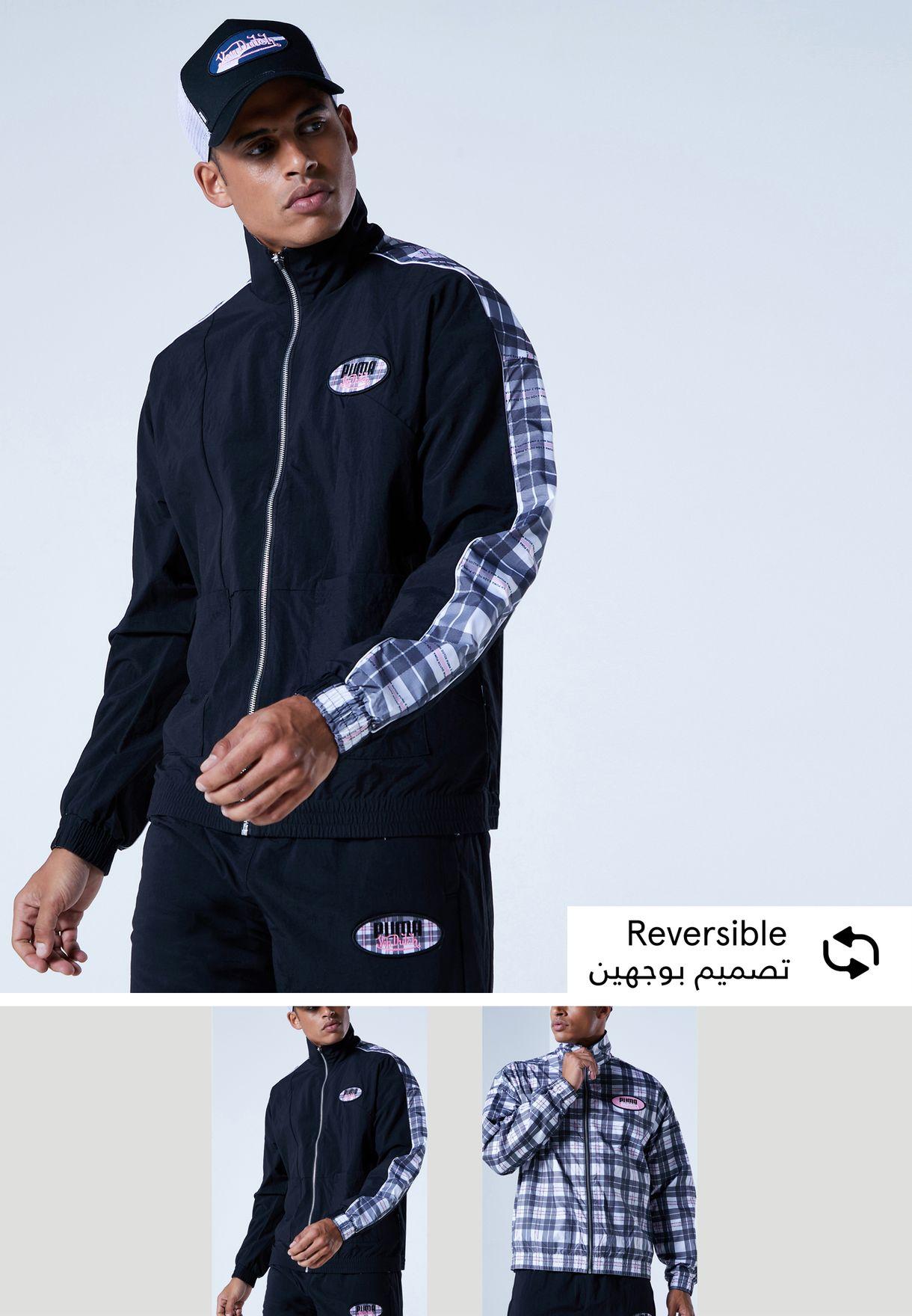 Von Dutch Reversible Track Jacket
