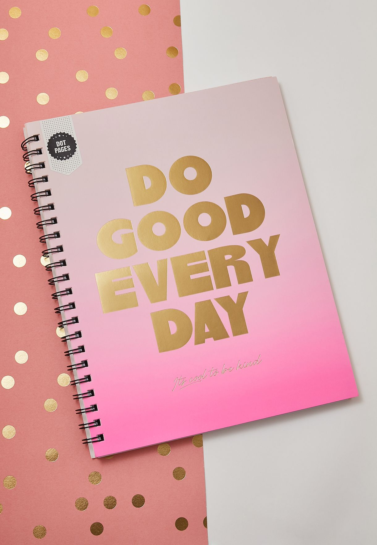 A4 Do Good Every Day Campus Notebook
