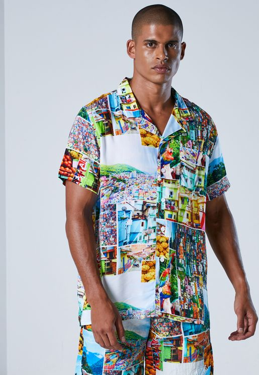Balvin Colombia Regular Fit Shirt