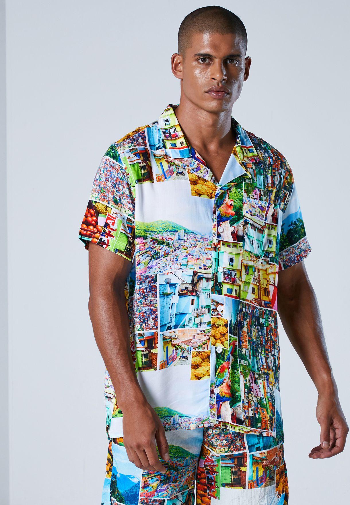 قميص من مجموعة جيس  x جاي بالفن
