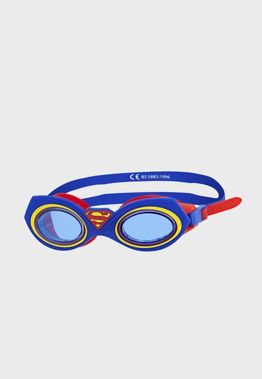 Youth Character Superman Swimming Goggles