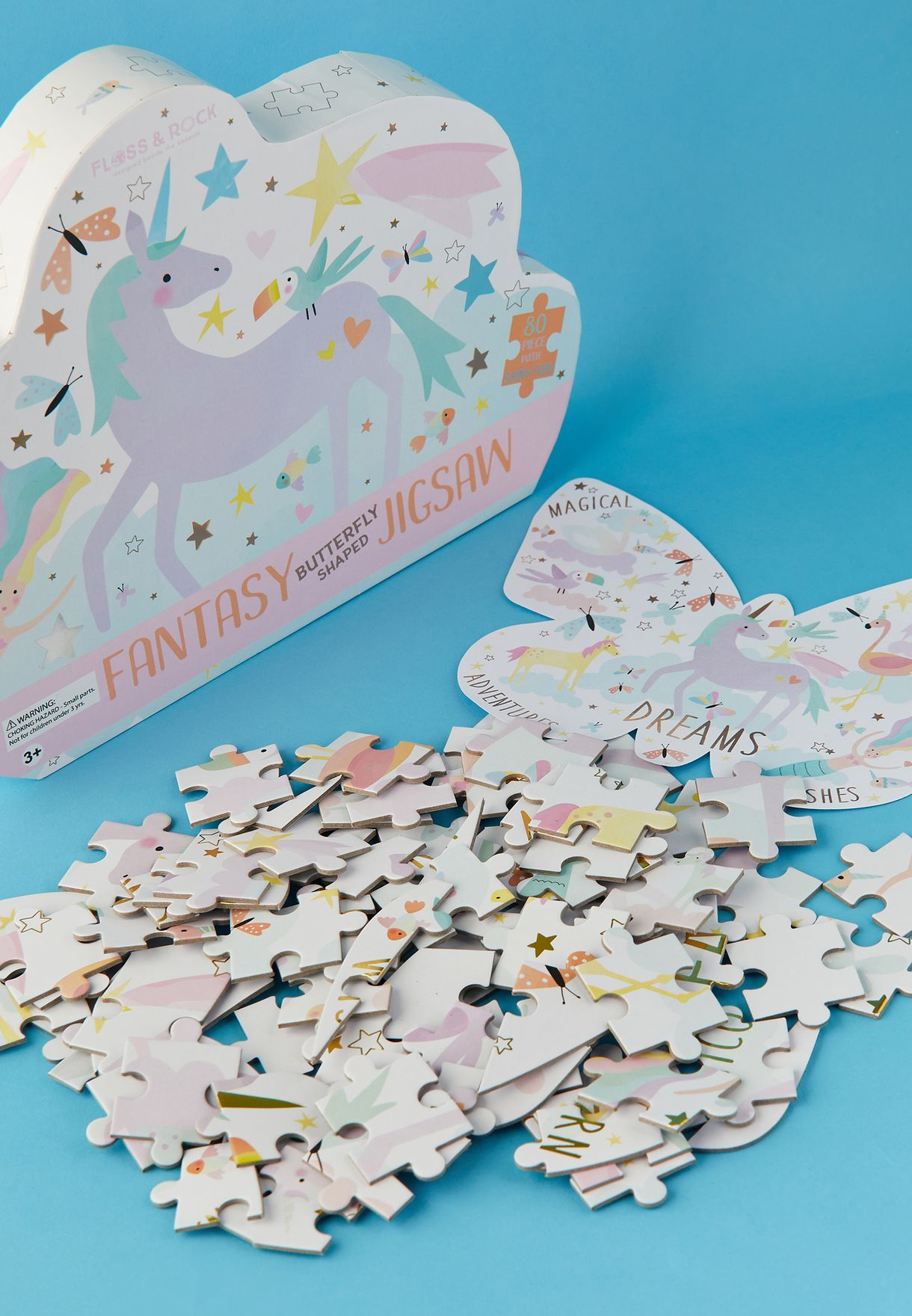 80 Piece Butterfly Puzzle