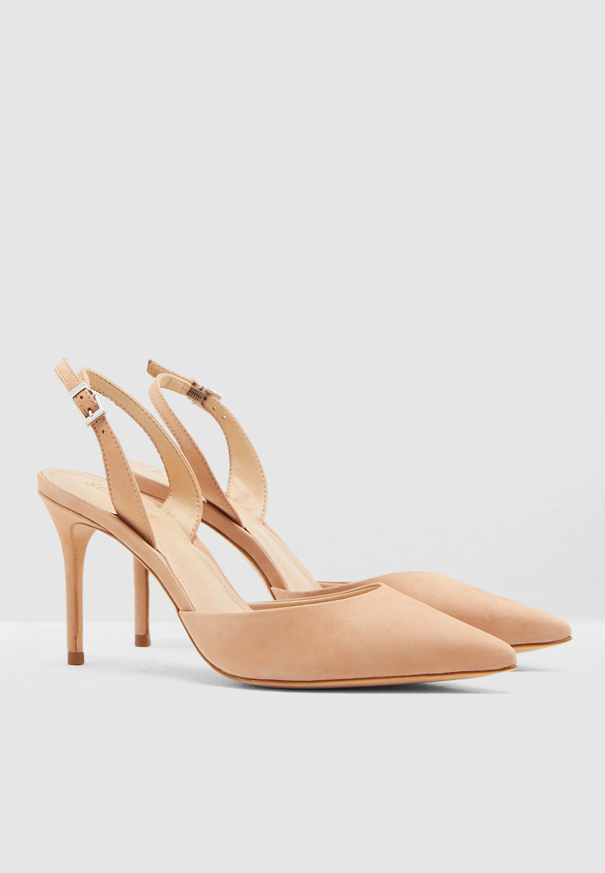 Point Toe Heel Pump