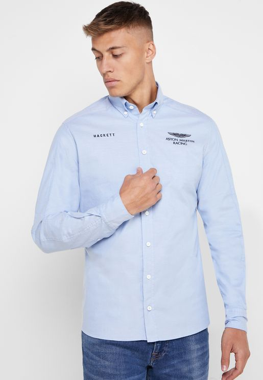 AMR Pinpoint Back Logo Shirt